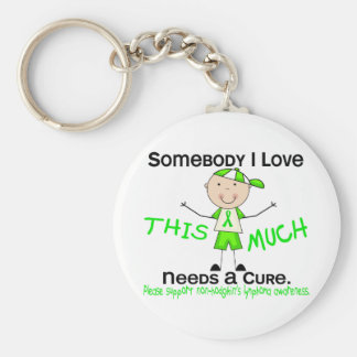Alguien amor de I - linfoma de Non-Hodgkins (mucha Llavero