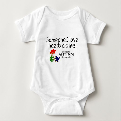 Alguien amor de I (pedazos del rompecabezas) Mameluco De Bebé