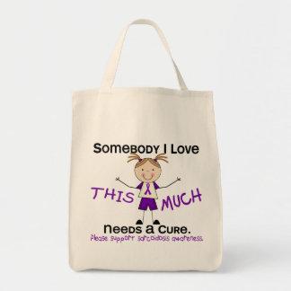 Alguien amor de I - sarcoidosis (chica) Bolsa Tela Para La Compra