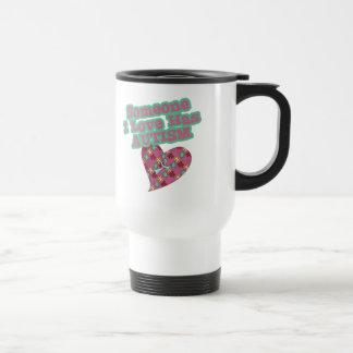 Alguien amor de I tiene autismo Taza De Café