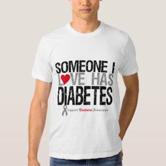 Alguien amor de I tiene diabetes Polera
