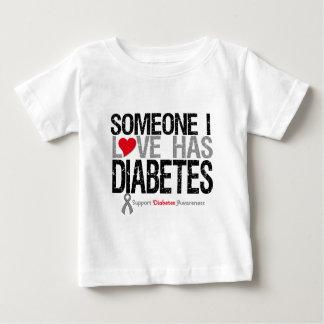 Alguien amor de I tiene diabetes Poleras
