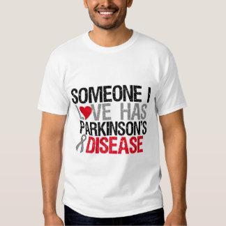 Alguien amor de I tiene enfermedad de Parkinson Playera