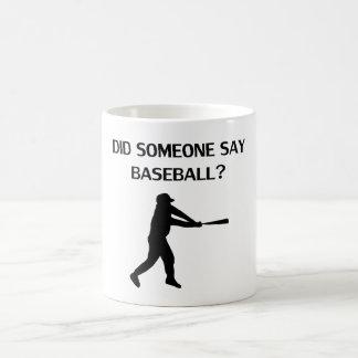 ¿Alguien dijo béisbol? Taza Mágica