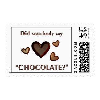 """¿Alguien dijo el """"chocolate? """" Envio"""