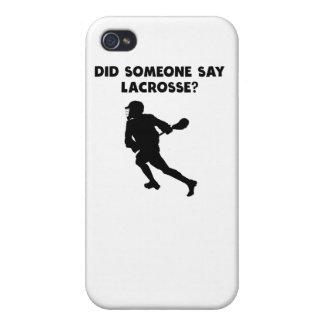 ¿Alguien dijo LaCrosse? iPhone 4 Cárcasas