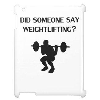 ¿Alguien dijo levantamiento de pesas?