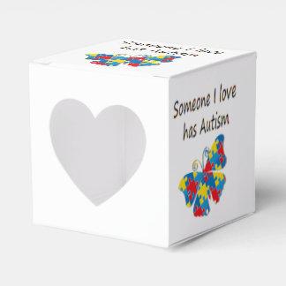 Alguien el amor de I tiene autismo (multi) Caja Para Regalos De Fiestas