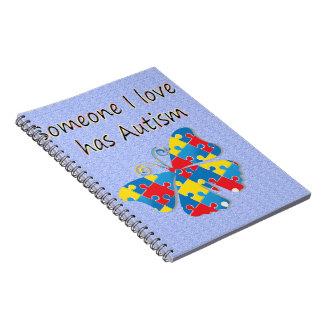 Alguien el amor de I tiene autismo (multi) Notebook
