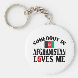 Alguien en Afganistán me ama Llavero Personalizado