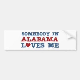 Alguien en Alabama me ama Pegatina Para Auto