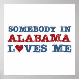 Alguien en Alabama me ama Póster
