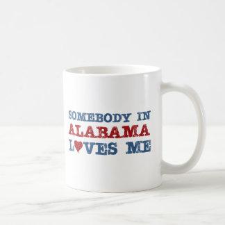 Alguien en Alabama me ama Taza De Café