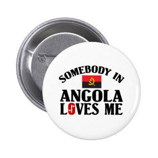 Alguien en Angola Pins