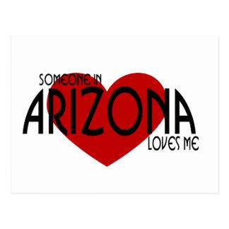 ¡Alguien en Arizona me ama! Tarjetas Postales