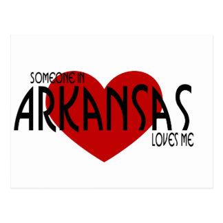 ¡Alguien en ArkansasLoves yo! Tarjetas Postales