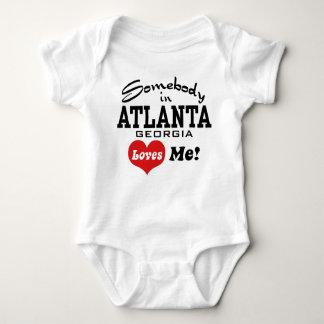 Alguien en Atlanta Georgia me ama Body Para Bebé