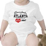 Alguien en Atlanta Georgia me ama Trajes De Bebé