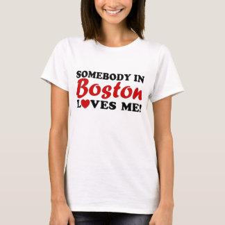Alguien en Boston me ama Playera
