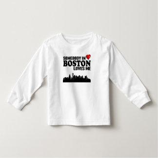 Alguien en Boston me ama Playera De Bebé