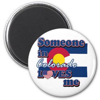 Alguien en Colorado me ama Imán Redondo 5 Cm