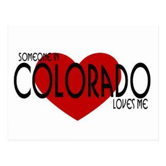 ¡Alguien en Colorado me ama! Postales