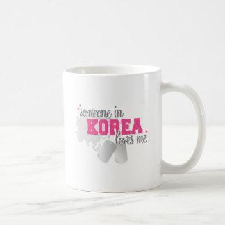 Alguien en Corea Taza De Café