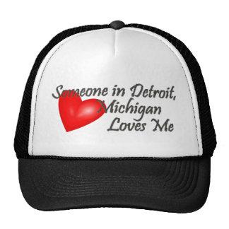 Alguien en Detroit me ama Gorras