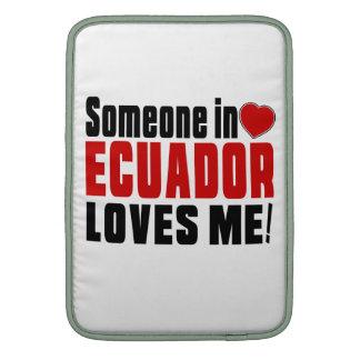 ¡ALGUIEN EN ECUADOR ME AMA! FUNDA MACBOOK AIR