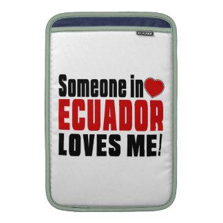 ¡ALGUIEN EN ECUADOR ME AMA! FUNDAS MacBook