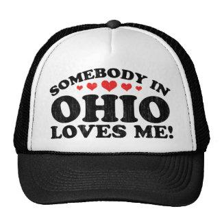 Alguien en el vintage de Ohio Gorro De Camionero