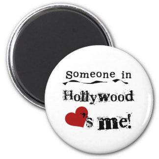 Alguien en Hollywood Imán De Frigorífico