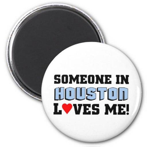 Alguien en Houston me ama Iman De Nevera