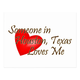 Alguien en Houston me ama Postales