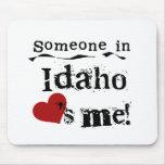 Alguien en Idaho me ama Alfombrilla De Ratones