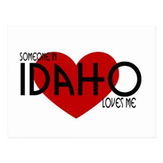 Alguien en Idaho me ama Postal