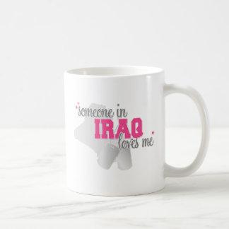 Alguien en Iraq Taza De Café