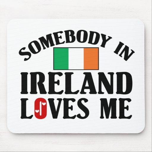 Alguien en Irlanda Tapete De Raton