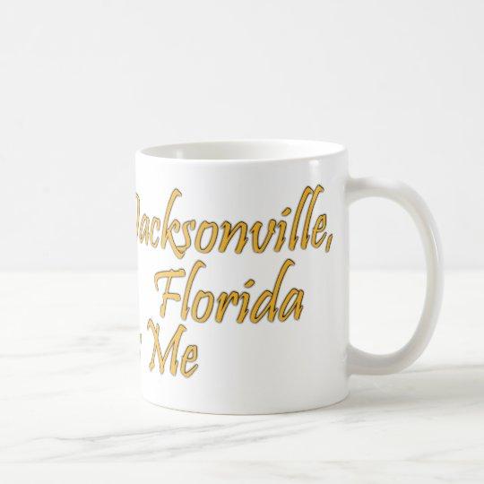 Alguien en Jacksonville la Florida me ama Taza De Café