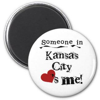 Alguien en Kansas City Imán De Frigorifico