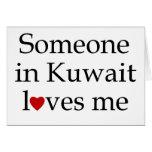 Alguien en Kuwait me ama Felicitaciones