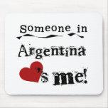 Alguien en la Argentina me ama Tapete De Ratones