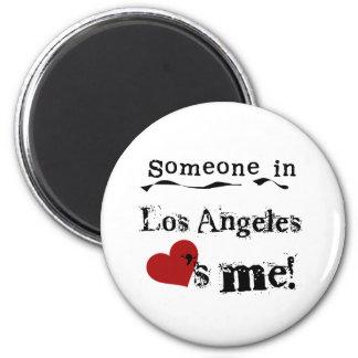 Alguien en Los Ángeles Imán Redondo 5 Cm