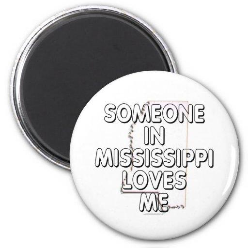 Alguien en Mississippi me ama Iman De Nevera