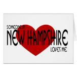 ¡Alguien en New Hampshire me ama! Tarjetón