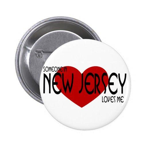 Alguien en New Jersey me ama Pins