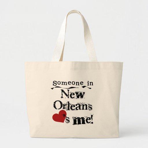 Alguien en New Orleans Bolsa Lienzo