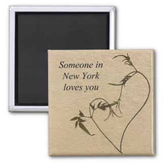 Alguien en Nueva York le ama imán