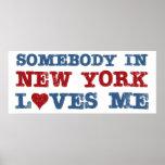 Alguien en Nueva York me ama Posters