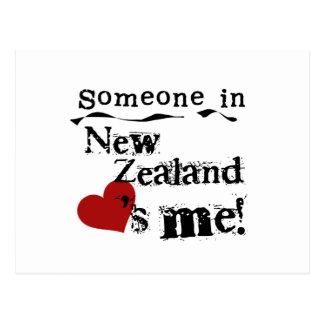 Alguien en Nueva Zelanda me ama Postales